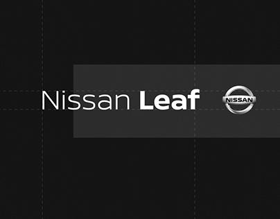 Nissan Leaf — Typography Motion Design