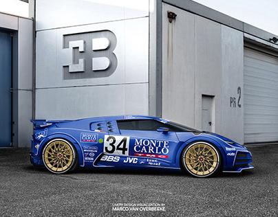 Bugatti Centodieci - EB110 LM & IMSA livery tributes
