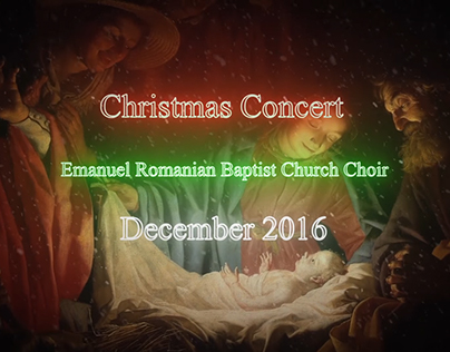 ERBC Christmas Concert 2016