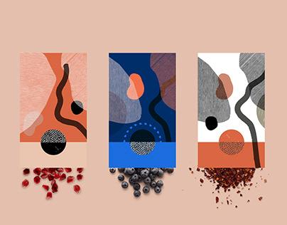 Plain Simple xx chocolate branding & packaging concept