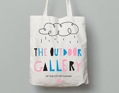 The Outdoor Gallery eco bag