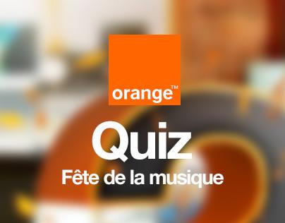 Orange Tunisie _ Quiz fête de la musique 2014