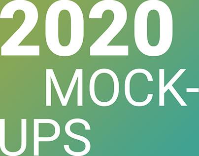 2020 Mockups (in progress)