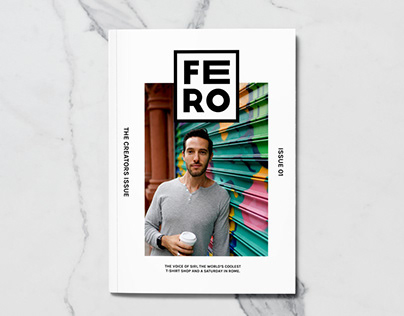 Fero Magazine Editorial Design