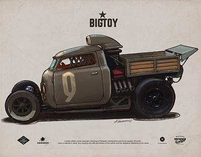 toy car design sketches