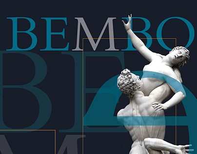 Typography Poster - Bembo
