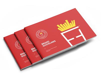 """Fritsa Fries """"Brand Guidelines"""""""