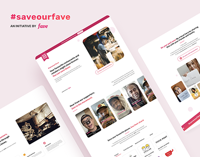 SaveOurFave Responsive Website