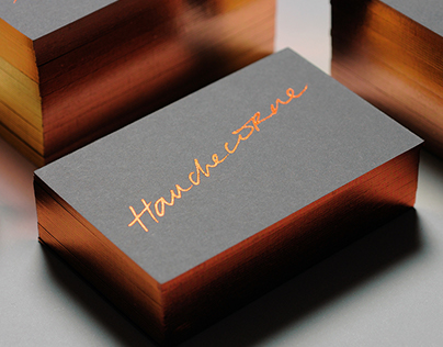 J.H. | Visual identity & business cards