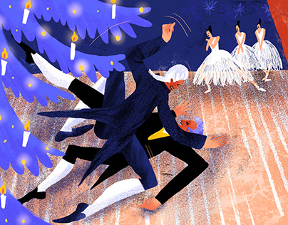 New Year Eve and Russian Ballet