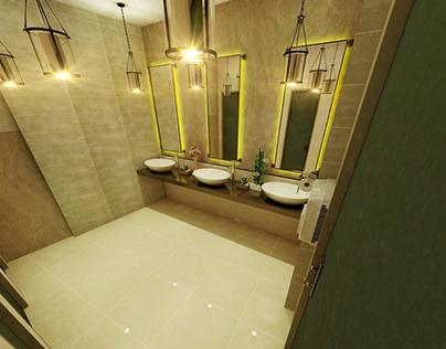 365 Proposed Washroom Interior