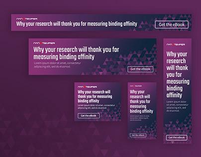 Banner Ads for NanoTemper Tech