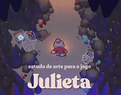Estudo de arte para jogo: Julieta