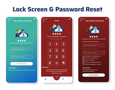 Lock Screen UiI Password Reset