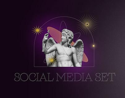 antic social media set