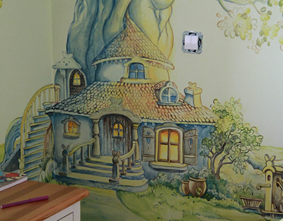 """My Safe Space"" in the Juanna's bedroom (Poland)"