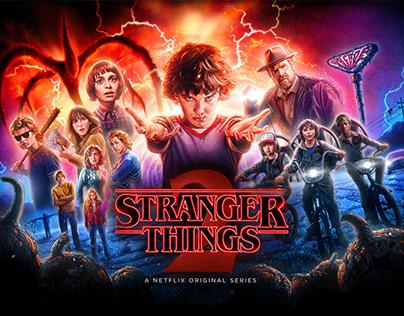 Stranger Things 2 - OFFICIAL POSTER