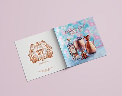 Absolut Elyx Cocktail Recipes