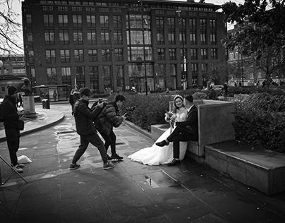 People in London