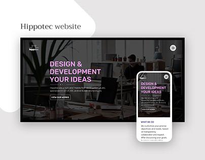 Hippotec new website