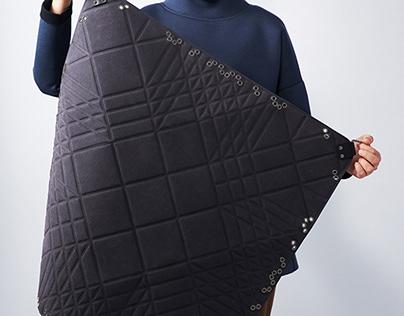 Origami bag for sustainable use, MODIBAG 3.0