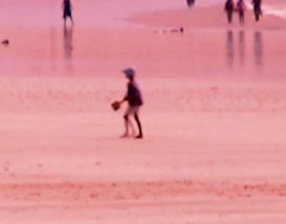 The beach , Videoinstalación (2011)