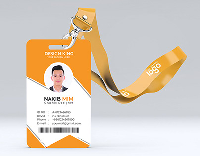 ID Card with Free Mockup
