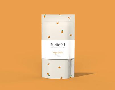 Hello Hi Gummies Packaging