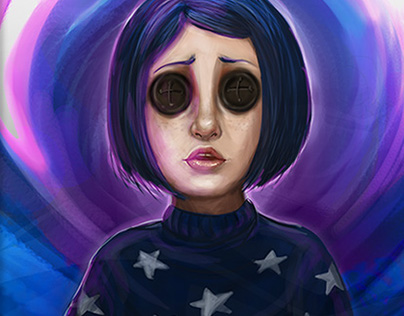 Coraline Jones Fanart