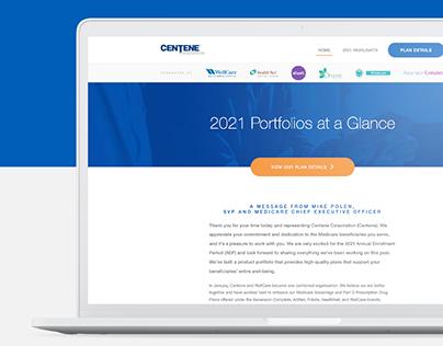 Centene 2021 First Look Microsite