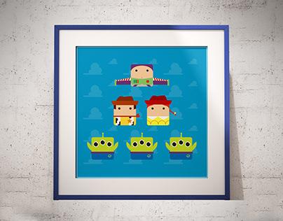 """""""Toy Story"""" Síntesis de personajes"""