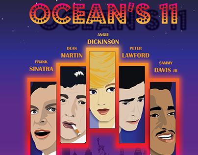 Ocean's 11 Movie Poster