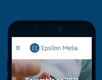 Refonte de l'identité visuelle d'Epsilon Melia