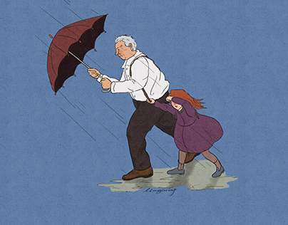 when the wind and rain fall