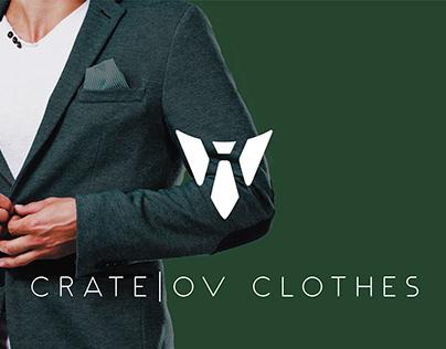 Crate|ov Clothes Website Design
