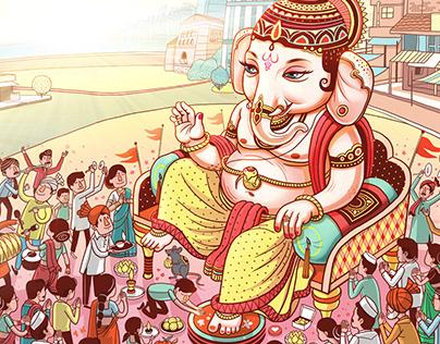 Maharashtra Times Ganesh festival 2017