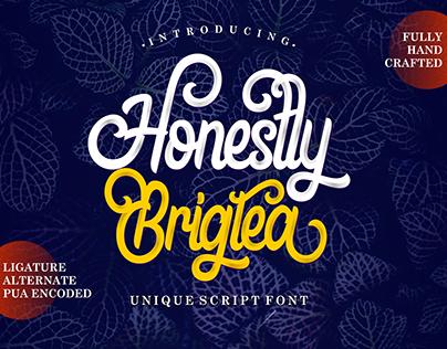 HONESTLY BRIGTEA FONT | AMAZING FONT