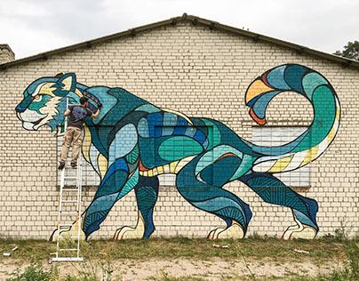 Funky Cattt // Mural