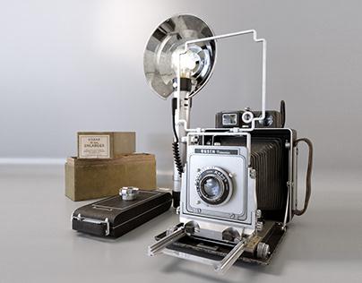 3d model Camera Busch Pressman D 4x5
