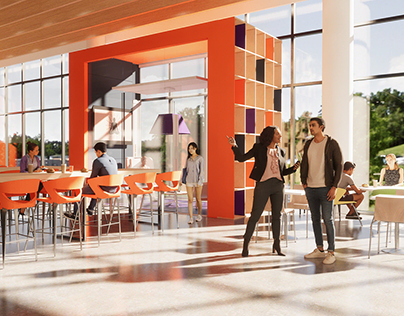 Aramark: Campus Food Court Visualization