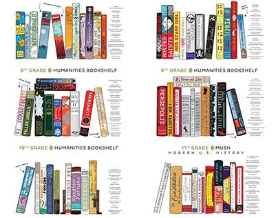 Humanities Bookshelves