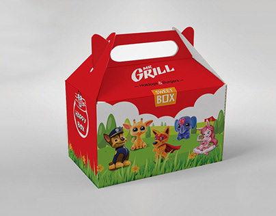 Packaging for child menu