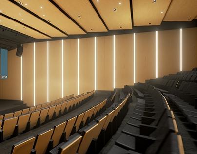 Auditorium Unreal Engine 4