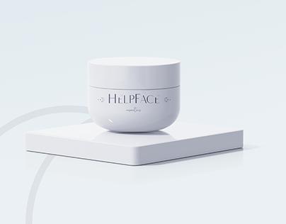 HelpFace Logo & packing design