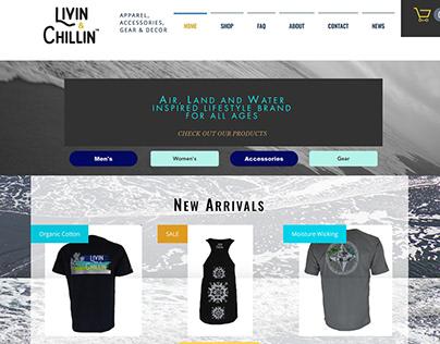 Livin & Chillin Website