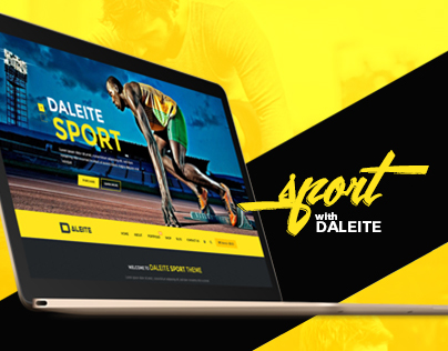 SPORT with Daleite - eCommerce template for Sport store