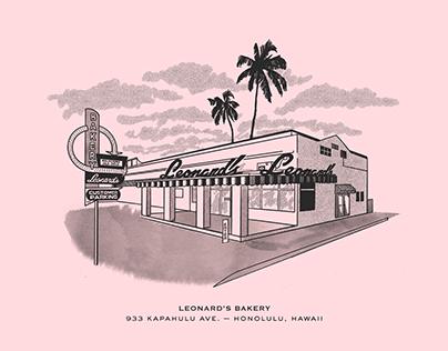 Leonard's Bakery, Hawaii
