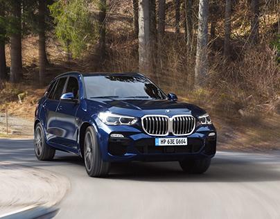BMW X5 - CGI