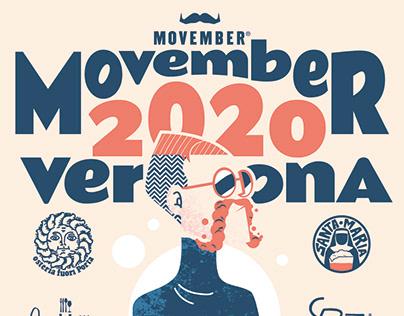 Movember Verona - poster design