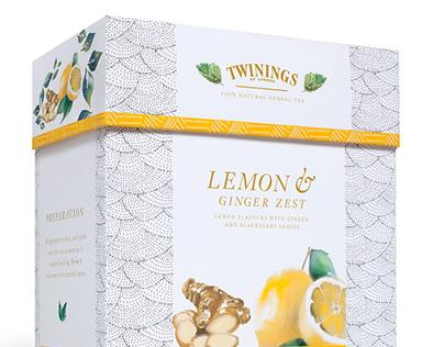 Twinings Tea Packaging